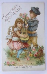 Kaufmannsbilder,  Chocolat Poulain,  Kinder Mode,    Jahr 1880 ♥