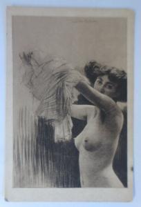 Erotik, Nach der Sitzung, 1910, Fenner Behmer ♥ (7652)