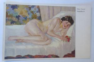 Erotik, Aktstudien  Kampfbereit, 1910, Edward Cucuel ♥ (7630