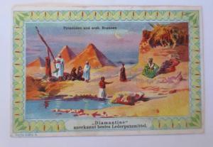 Kaufmannsbilder, Diamantine, Serie 5383, Nr. 6, Ägypten  ♥