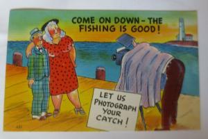 Scherzkarten, Männer, Frauen, Foto, Fotoapparat,1920 ♥ .. (60257)