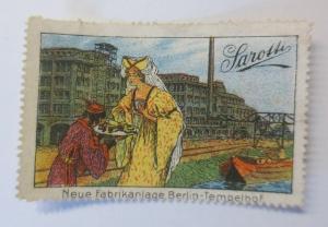 Vignetten Sarotti  Neue Fabrikanlage Berlin- Tempelhof 1900 ♥ (59643)