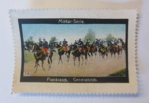 Vignetten Militär-Serie Frankreich Generalstab  1900 ♥ (57738)
