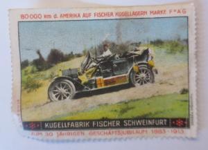 Vignetten Kugellager Fabrik Fischer Schweinfurt 30 Jahre Jubiläum 1900 ♥ (49767)