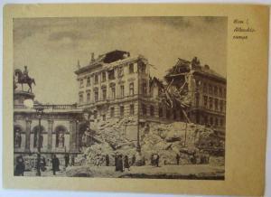Österreich zerstörtes Wien 1945 Albrechtsrampe (66221)
