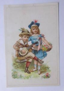 Kaufmannsbilder,  Chocolat L´ Enfant Prodigue, Kinder Mode   Jahr 1880 ♥