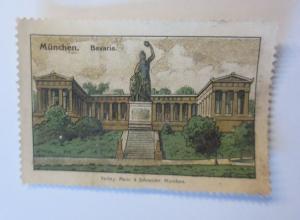 Vignetten München Bavaria 1900 ♥ (41178)
