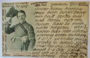 Rußland, Russischer Kutscher 1900 nach Bonn (64392)