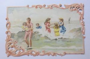 Kaufmannsbilder, Oblaten, C.Beriot Lille, Cafe Moka Bresilien   1900 ♥