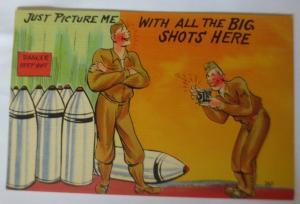 Scherzkarten, Männer, Foto, Bomben,Fotoapparat, 1920 ♥ (41544)