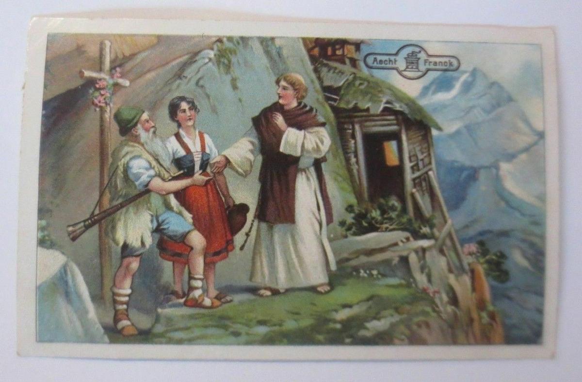 Kaufmannsbilder,  Aecht Franck Kaffee, Serie Ekkehard,  Nr.6   ♥ 0