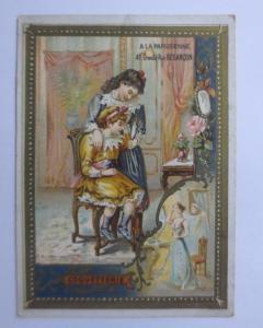 Kaufmannsbilder,  Parisienne, A. Schulle,    Kinder, Spielzeug   1900 ♥