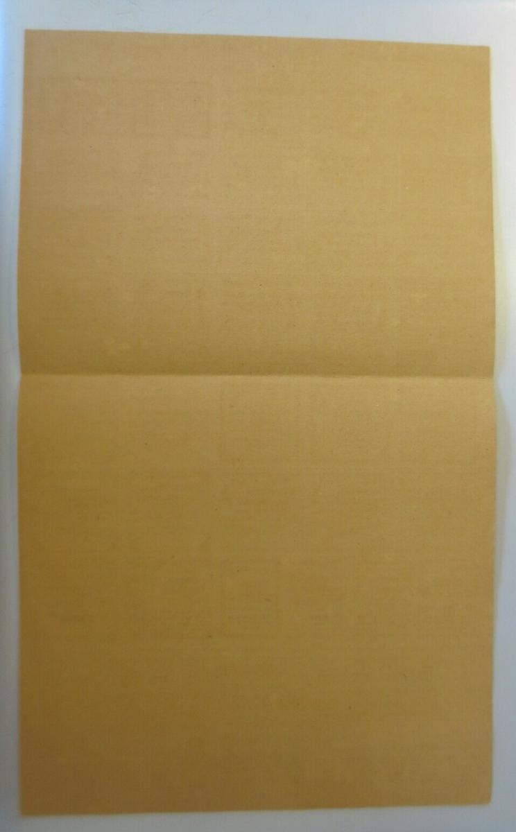 Lebensmittelkarten, Stadt Stuttgart Käse, Butter, Zucker, 1919 ♥ (X177) 1