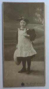 CDV, Foto Chr. Brandt Heilbronn Hoffotograph Kinder, Schulkind,1900  ♥ (44459)