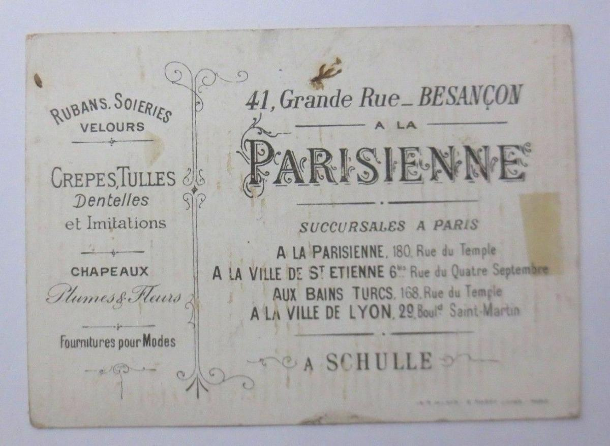 Kaufmannsbilder,  Parisienne, A. Schulle,    Kinder, Spielzeug   1900 ♥ 1