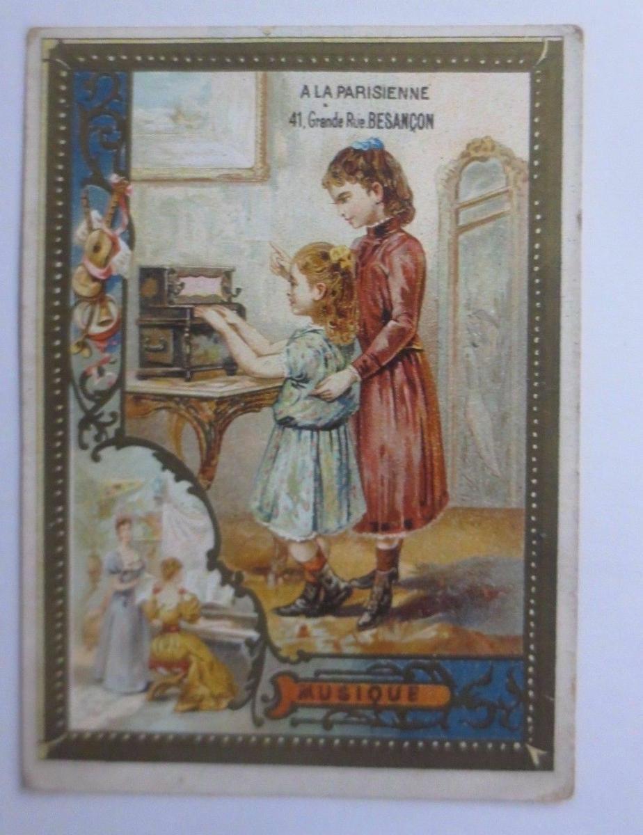 Kaufmannsbilder,  Parisienne, A. Schulle,    Kinder, Spielzeug   1900 ♥ 0