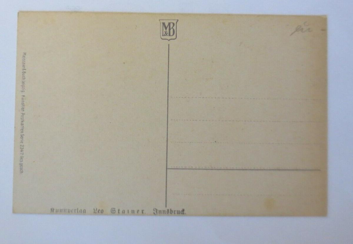 Namenstag, Baum mit Blüten, Landschaft,   1920, Meissner & Buch  ♥ (38254) 1