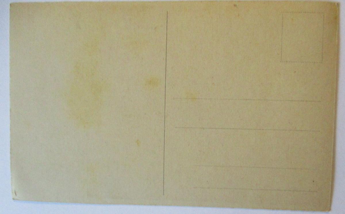 Künstlerkarte, Frau auf Sofa, unsigniert (51707) 1