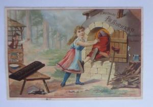 Kaufmannsbilder, Chocolat Ph. Suchard, Hänsel & Gretel 1910 ♥