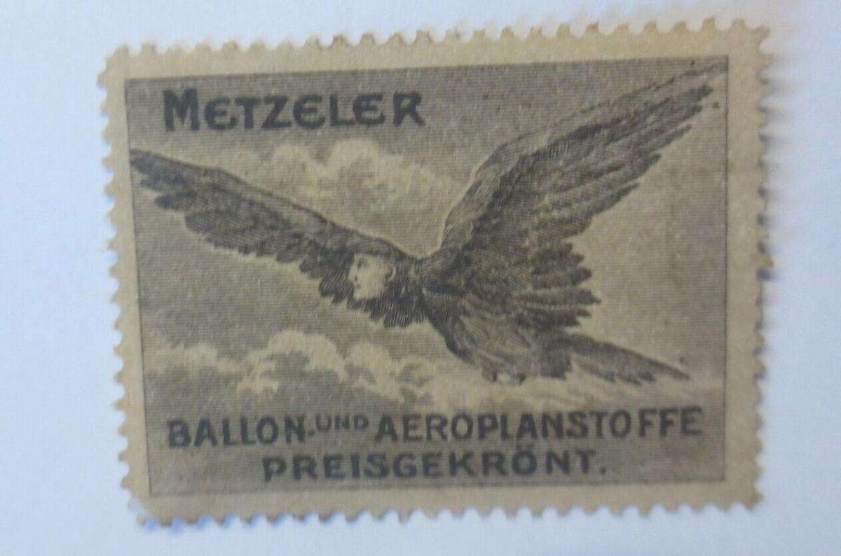 Vignetten Metzler Ballon und Aeroplanstoffe  Preisgekrönt  1900 ♥ (16863) 0
