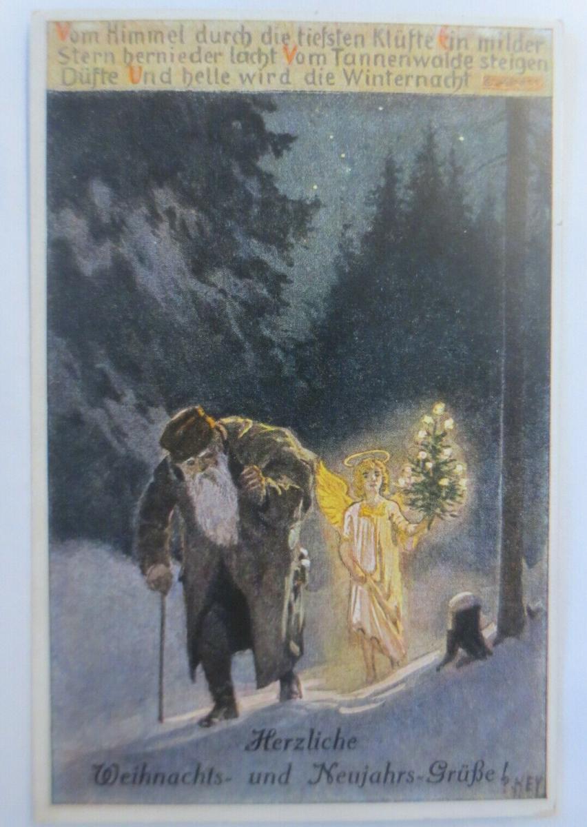 Weihnachten, Weihnachtsmann, Christkind, 1925, Paul Hey ♥ (46491) 0