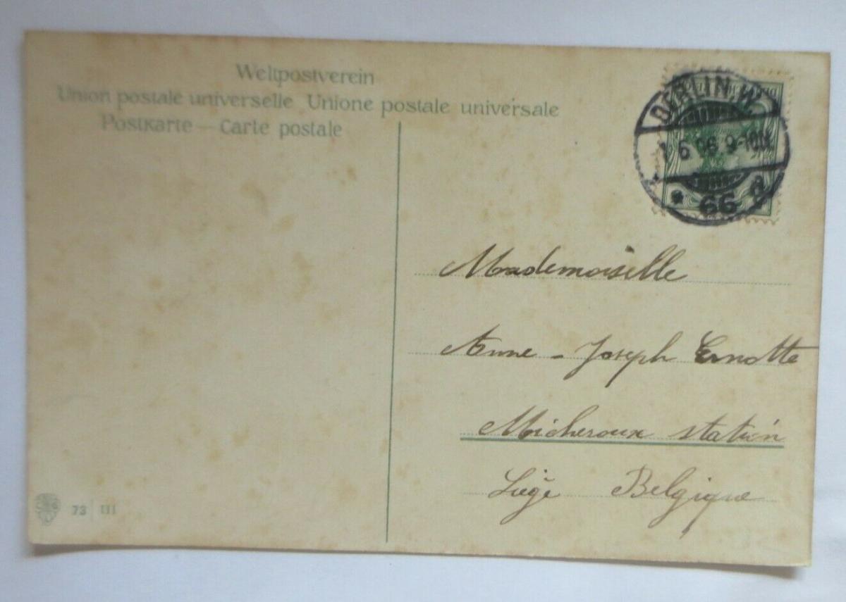 Pfingsten, Kutsche, Männer, Frauen, Ausflug, Fahrrad, 1906 ♥ (31751) 1