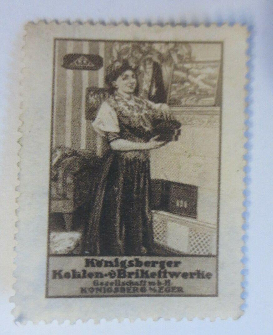 Vignetten Königsberger Kohlen u. Brikettwerke Königsberg   1900 ♥ (13408) 0