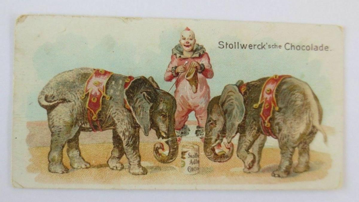 Stollwerck, Clown, Gut dressiert, Gruppe 133, Nr.2, Album. Nr.3  ♥ 0