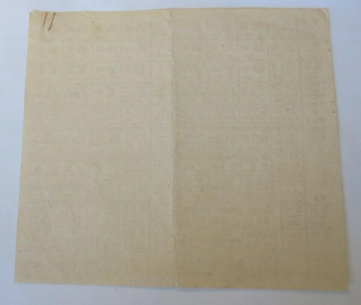 Lebensmittelkarten, Stadt Stuttgart  Brot, Fleisch, Butter, Fett, 1920 ♥ (X173) 1