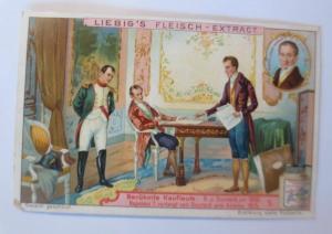 Liebig, Berühmte Kaufleute, Napoleon verlangt von Ouvrard eine Anleihe ♥