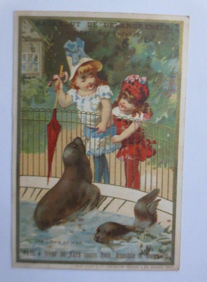 Kaufmannsbilder,  Hygiene de la Poitrine, Kinder, Mode ♥ 0