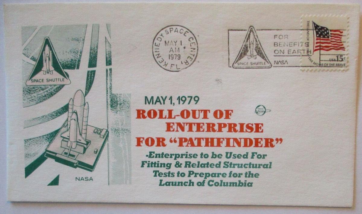 Raumfahrt USA NASA Space Shuttle Roll out of Enterprise 1979 (54154) 0