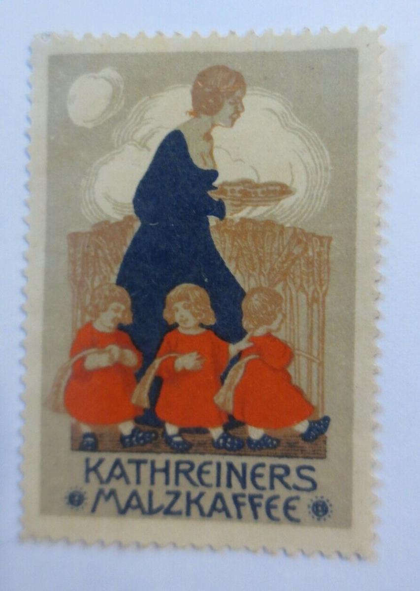 Vignetten Kathreiners Malzkaffee 1900 ♥ (13118) 0