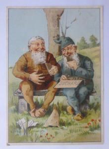 Kaufmannsbilder, Chocolat PH. Suchard,   Zwerge  1910 ♥