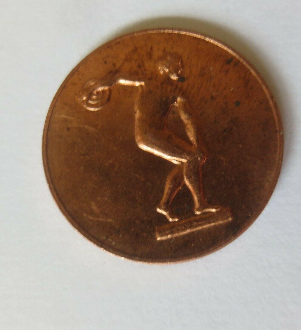 Medaille Olympiade 1972 München  Diskuswerfer Deutschland ♥ (51564) 1