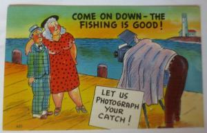 Scherzkarten, Männer, Frauen, Foto, Fotoapparat,1920 ♥ .(26317)