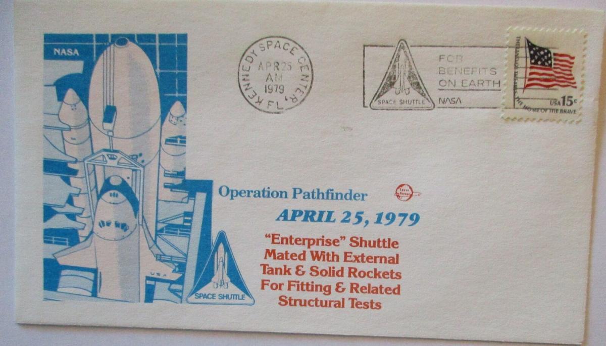 Raumfahrt USA NASA Space Shuttle Enterprise Operation Pathfinder 1979 (47806) 0
