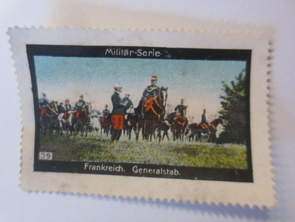 Vignetten Militär-Serie Frankreich Generalstab  1900 ♥ (13092) 0