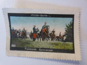 Vignetten Militär-Serie Frankreich Generalstab  1900 ♥ (13092)