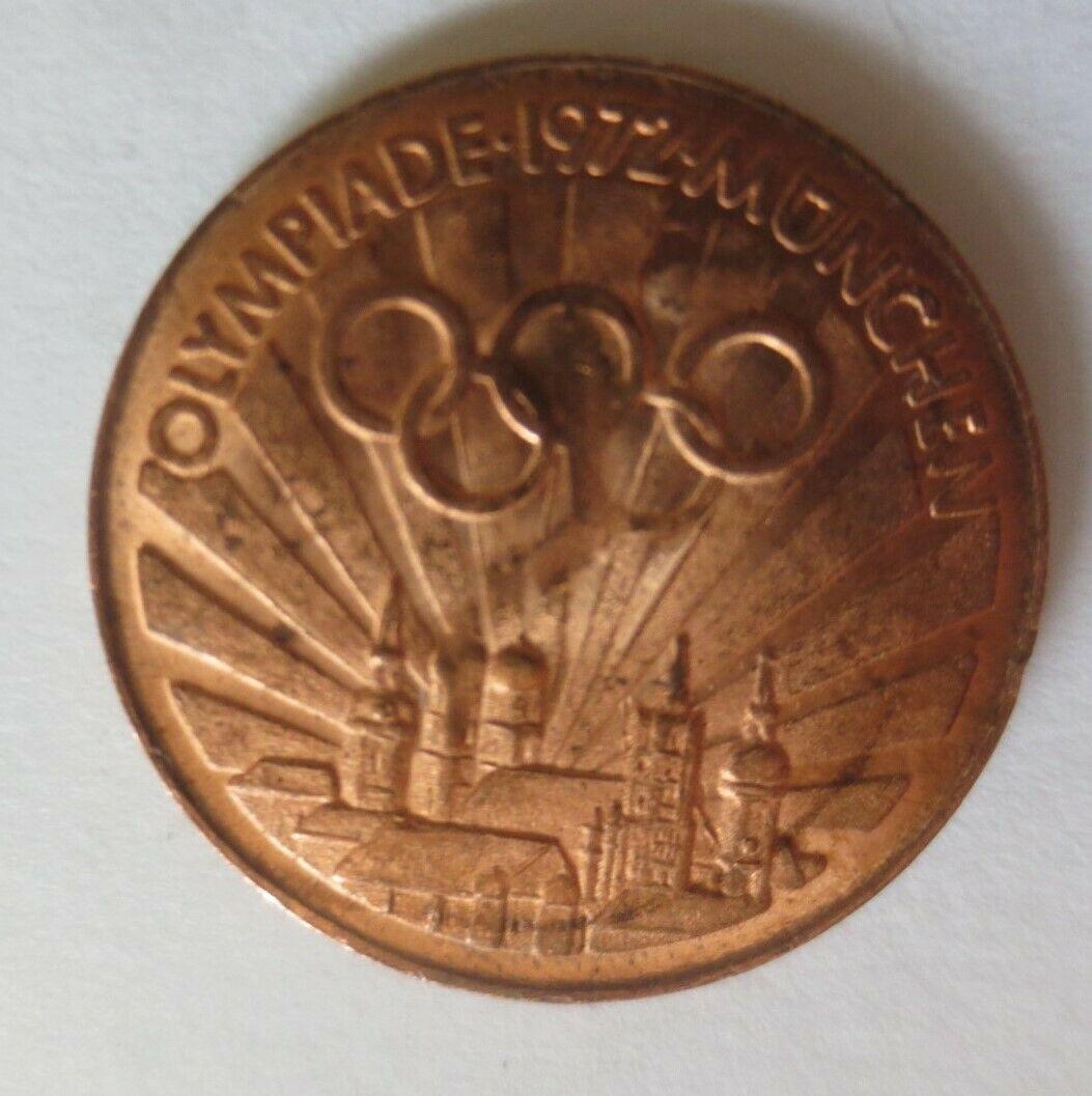 Medaille Olympiade 1972 München  Diskuswerfer Deutschland ♥ (34441) 0
