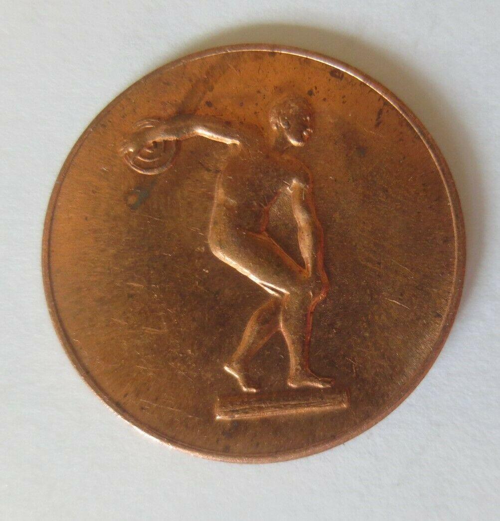Medaille Olympiade 1972 München  Diskuswerfer Deutschland ♥ (34441) 1
