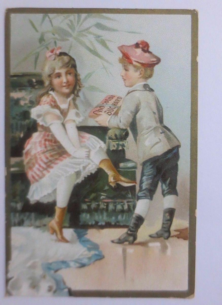 Kaufmannsbilder, Chocolat  PH. Suchard, Kinder, Mode,   1910 ♥ 0