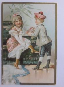 Kaufmannsbilder, Chocolat  PH. Suchard, Kinder, Mode,   1910 ♥