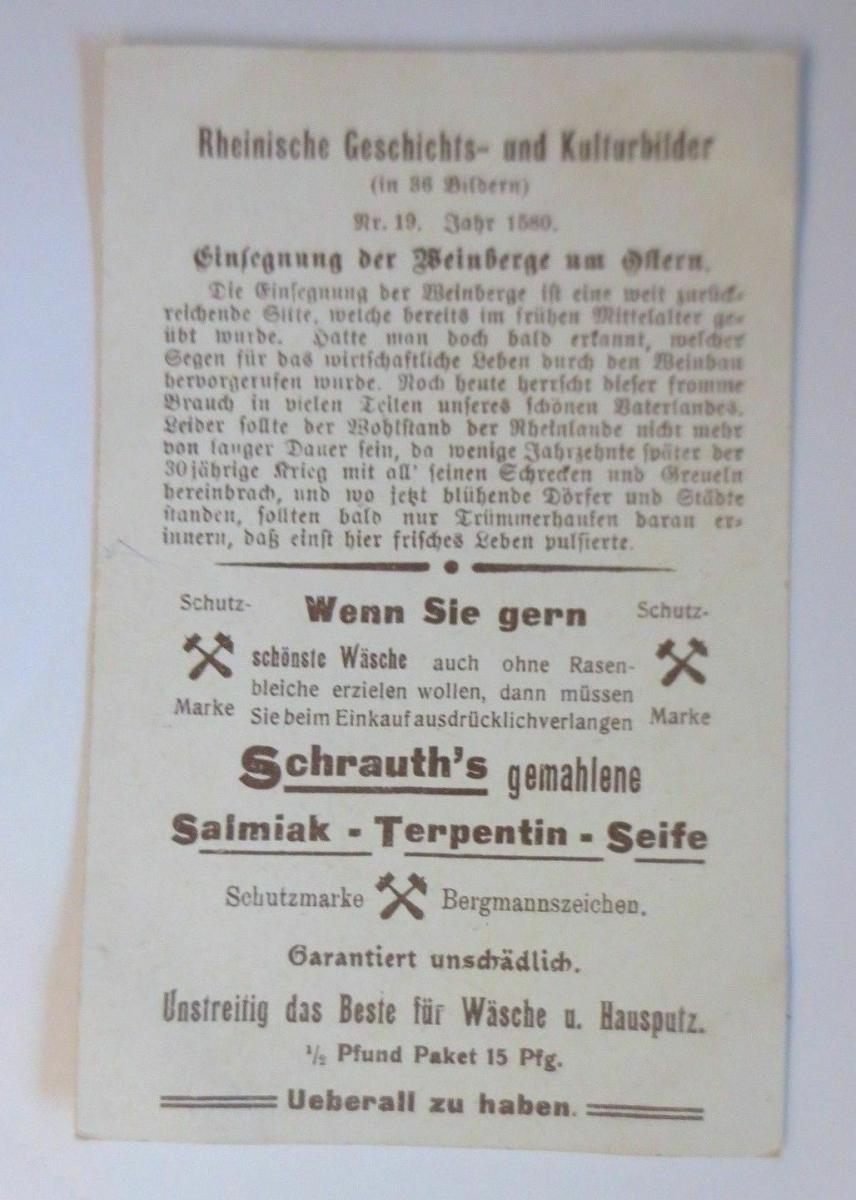 Kaufmannsbilder, P.H. Schrauth, Neuwied ♥ 1