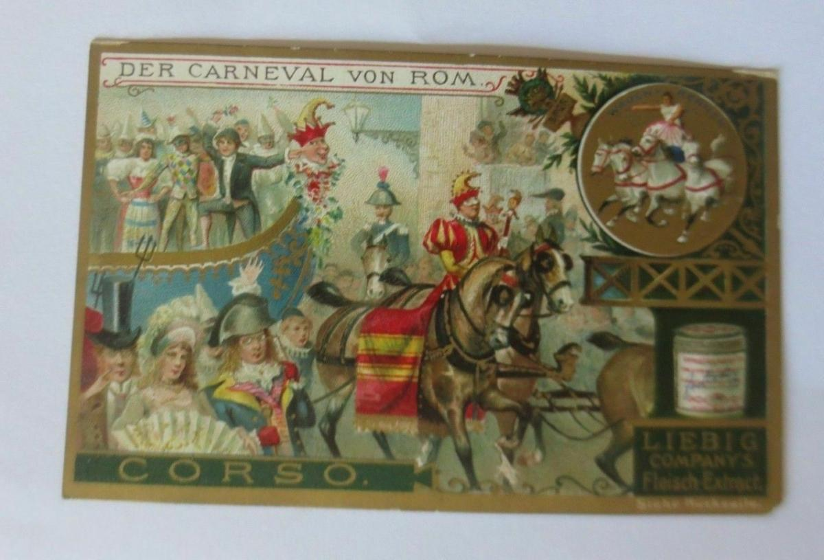 Liebig,  Serie 365, Der Carneval von Rom   ♥ 47020 0