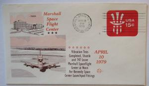 Raumfahrt USA NASA Space Shuttle Vibration Tesscompleted 1979 (37614)