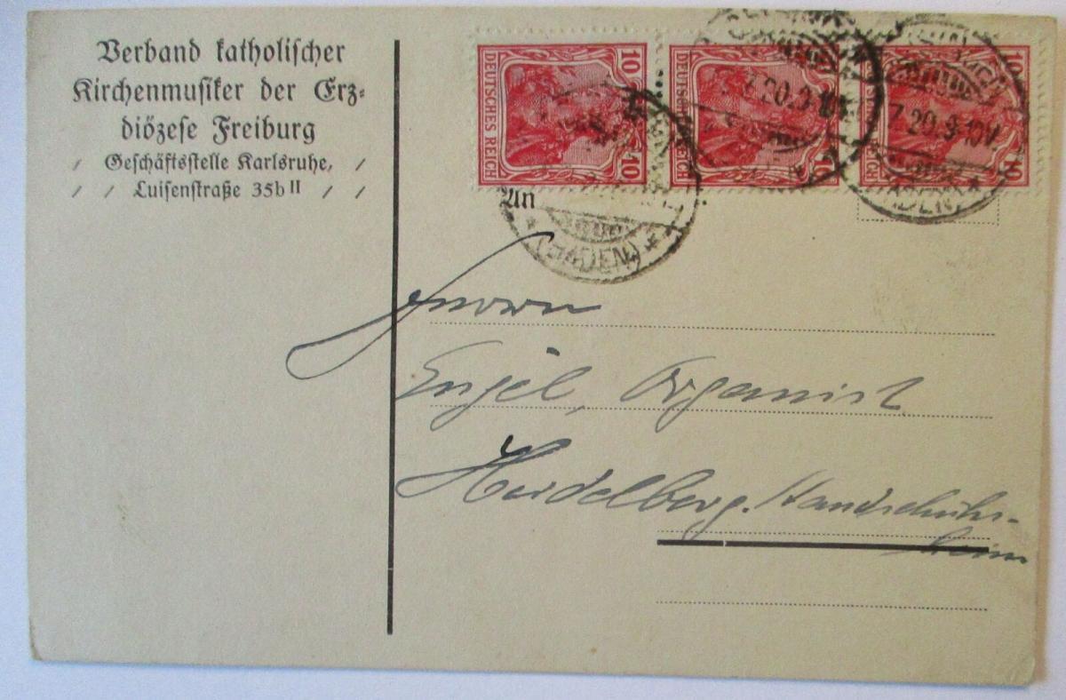 Musik Religion Baden, Verein katholischer Kirchenmusiker Freiburg 1920  (18487) 0