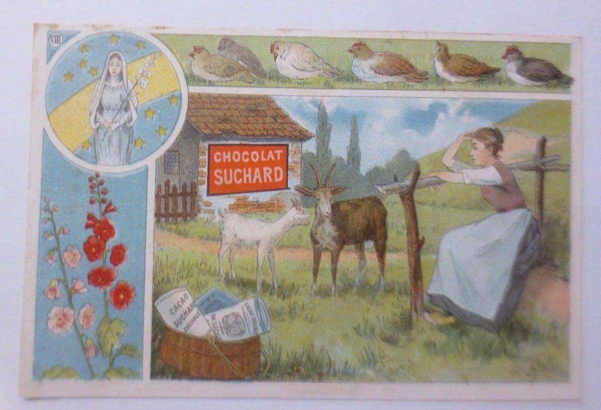 Kaufmannsbilder, Chocolat  PH. Suchard,  1910 ♥ 0