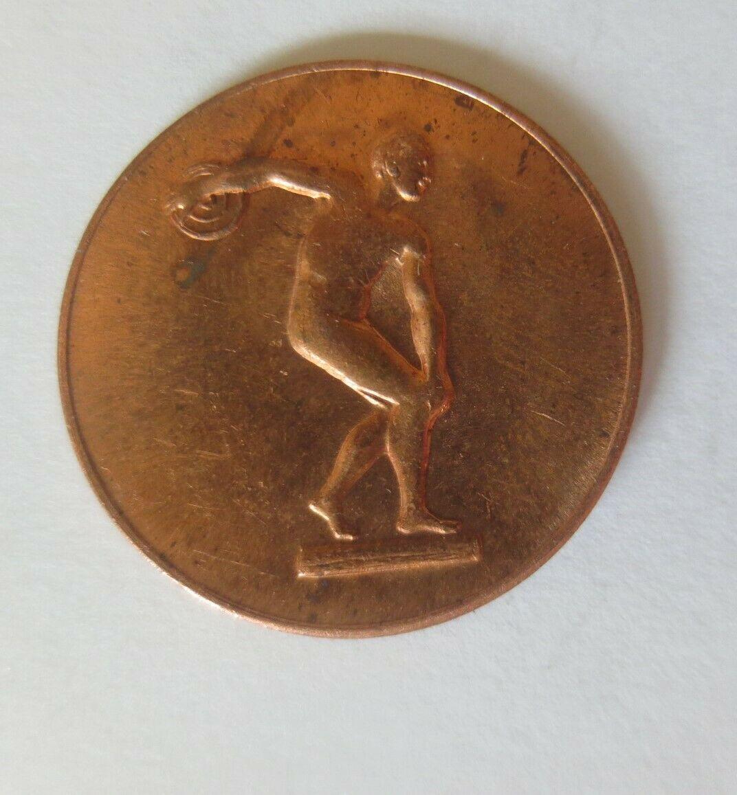 Medaille Olympiade 1972 München  Diskuswerfer Deutschland ♥ (21645) 1