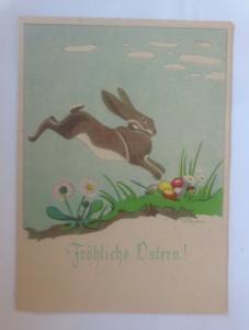 Ostern, Winterlandschaft, Hase, Ostereier,  1940, Hanns Müllner ♥ (70834)